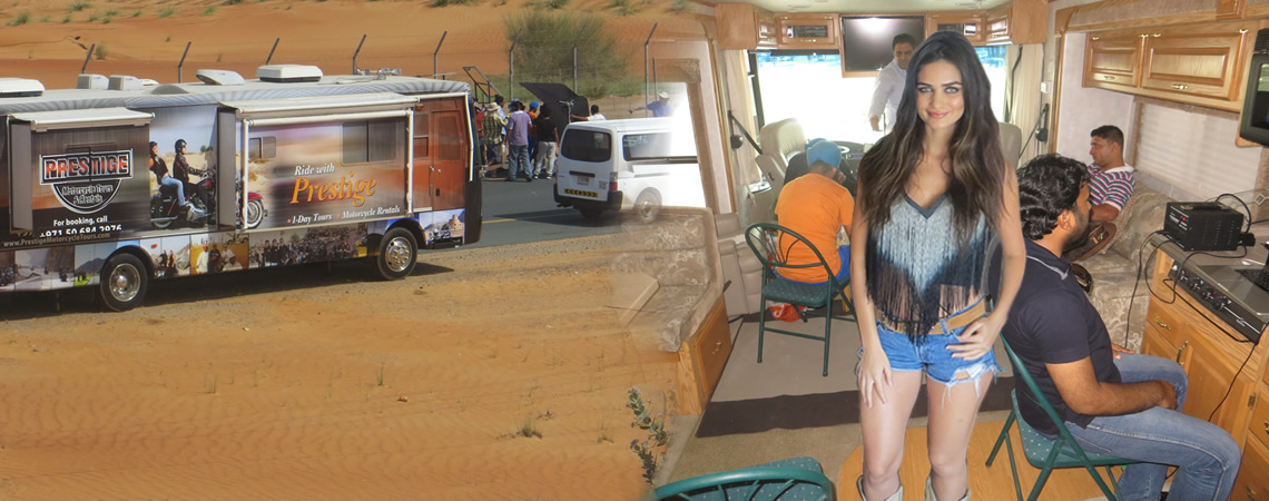 Talent / Production / Start Motorhome, Dubai, UAE