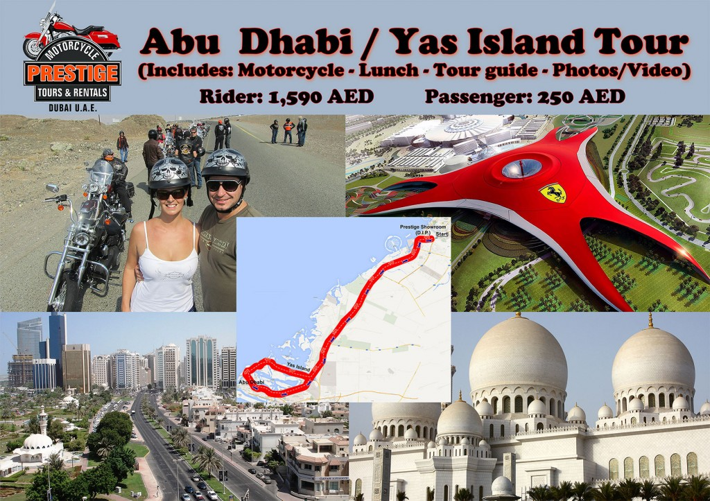 Abu Dhabi and Yas Island, Dubai, UAE