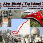 Abu Dhabi and Yas Island - 1,590 AED